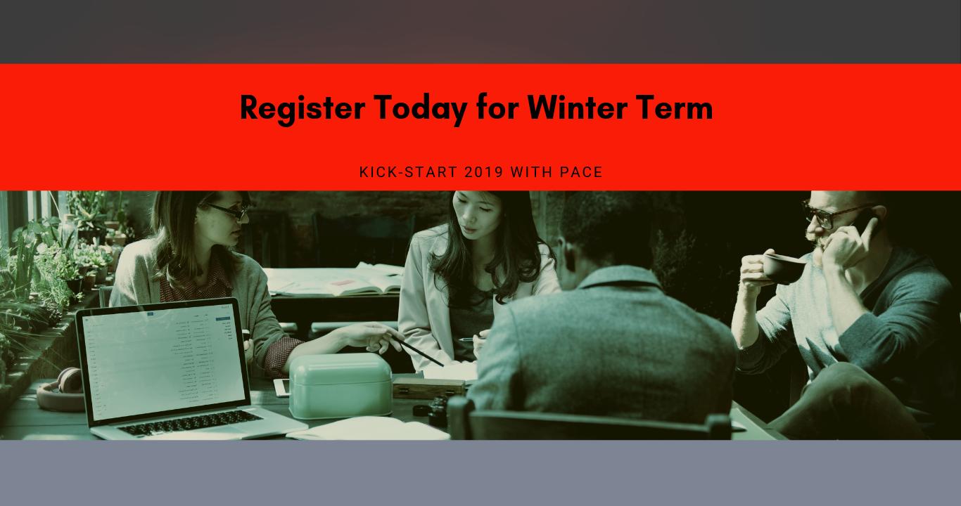 Winter Term - Register Now