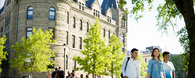 With competitive tuition rates and embracing and harnessing cultural diversity, come study in Canada