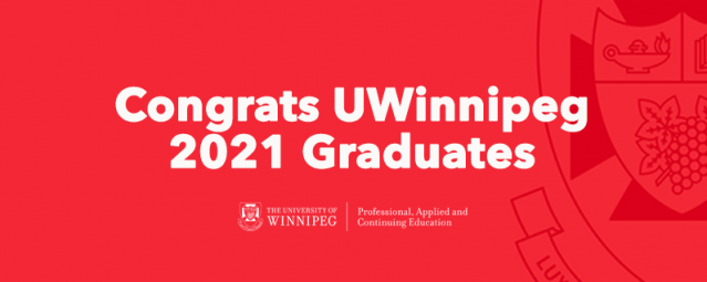 Congratulations to the Class of 2021 Professional, Applied and Continuing Education Grads