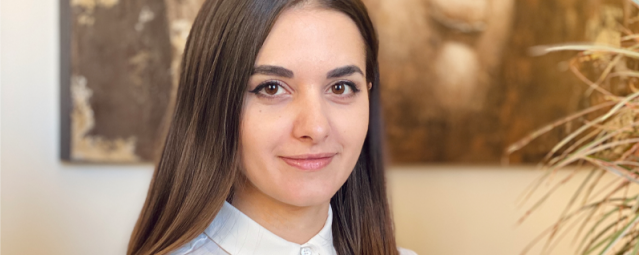 Alina Oliinyk just graduated from PACE. She landed a fulltime job at the end of her program