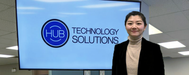 Project Management student Julie Shi kicked off the new year an internship on January 4, 2021 with p